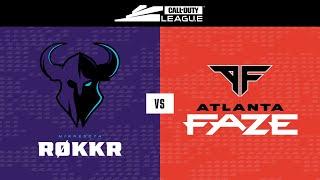 Group Stage | Minnesota Røkkr vs Atlanta FaZe | Toronto Ultra Home Series | Day 1