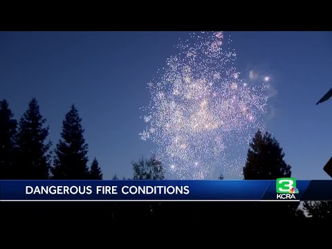 Region sees spike in fires triggered by fireworks, dangerous conditions