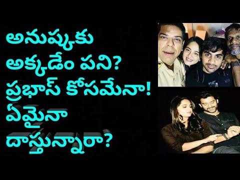 Anushka in Saaho!Saaho latest updates!Latest updates on prabhas!Prabhas latest news!Pranushka
