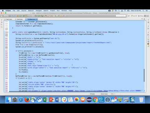 Custom Report InSelenium video-9