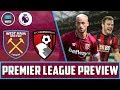 "Lagu ""We&39;ll Learn From The Liverpool Game"" West Ham vs Bournemouth  Big Match Preview"
