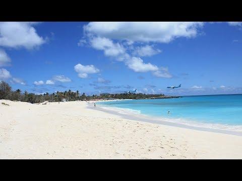 Saint Martin, Caribbean Island in 4K