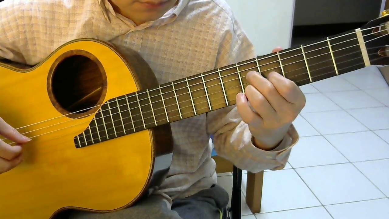 失落沙洲 (徐佳瑩) - 古典吉他獨奏 - YouTube