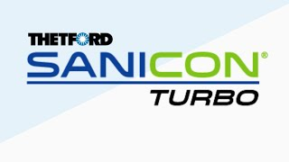 Sani-Con Turbo. Waste evacuation system for RVs, by Thetford