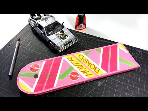 Build the FLYING HOVERBOARD from Back to the Future! Homemade Superconductor Magnetic Levitation