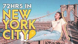 72hrs in NEW YORK (The City That Never Sleeps) w/ Bela Padilla #BeKi | Kim Chiu PH