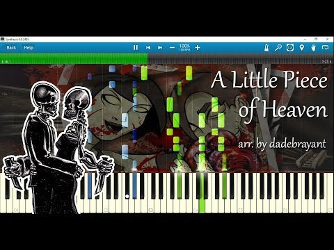 Avenged Sevenfold - A Little Piece of Heaven (piano arr. by dadebrayant) w/ sheet music