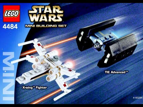 How To Build Lego Mini X Wing Fighter Tm Tie Advanced Tm 4484