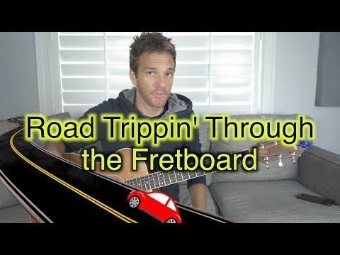 Road Trippin Through the Guitar Fretboard