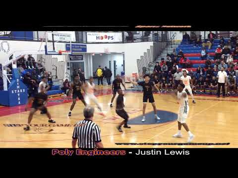 Poly Junior Justin Lewis' Game Highlights Vs. Wilson.