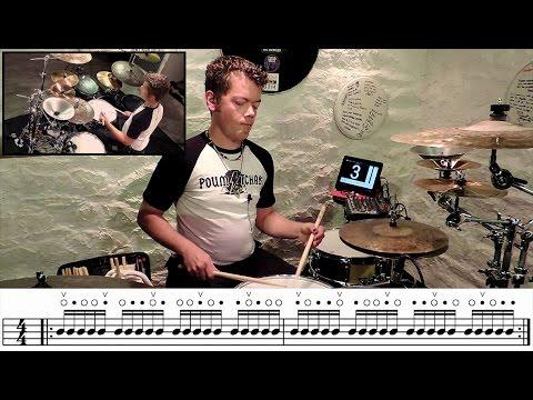 Cours de batterie : John H Petitjean / interview & exercices !