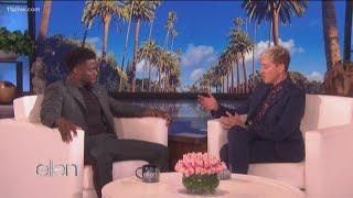 Ellen Degeneres and Kevin Hart talk about Oscar debacle