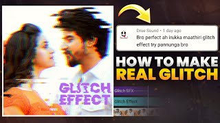 How To Make EFX GLITCH EFFECT | Alight Motion Tutorial | Vibal Feahers Edits