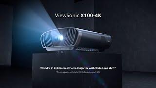 ViewSonic X100-4K UHD Home Cin…