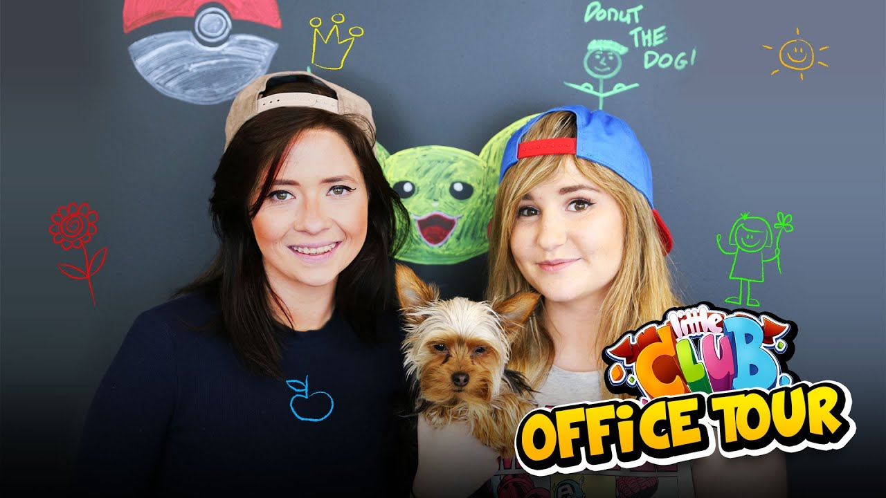 Kelly carly vlogs the little club hq office tour - The little club ...