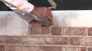 Murowanie elewacji z cegły ręcznie formowanej Vandersanden