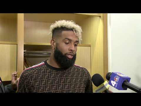 Odell Beckham Jr. On The Continued Trouble In The Red Zone | New York Giants | MSG Networks