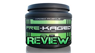 Pre Workout Reviews: PRE KAGED By Kaged Muscle Review