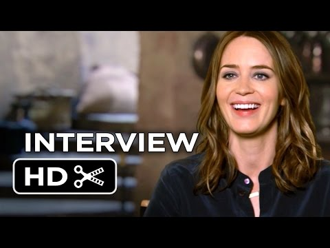 Into the Woods Interview - Emily Blunt (2014) - Musical HD