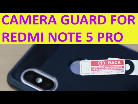 Camera lense Guard | Redmi Note 5 Pro camera lense protector | Mobile camera lenses guard...