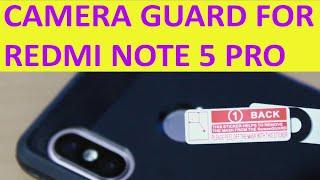 Camera lense Guard   Redmi Note 5 Pro camera lense protector   Mobile camera lenses guard...