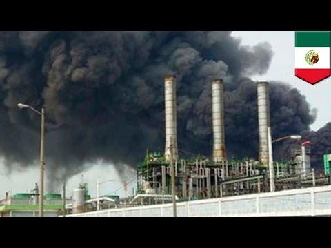 Petrochemical plant explosion: Massive blast at Mexico's Pemex facility kills 24 - TomoNews