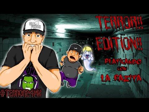 #terror24mx Platicando con la Razita Noche de Terror Edition!