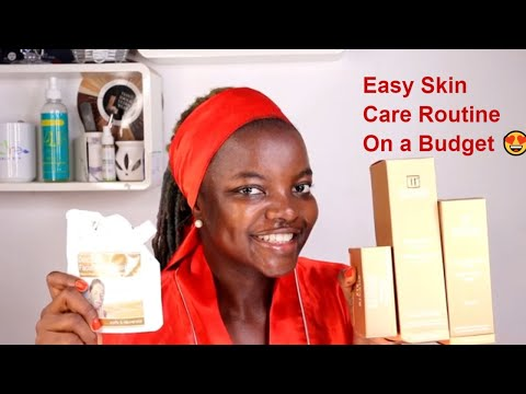 Simple and Easy Skin Care Routine on a Budget. Rivage Natural Dead Sea Minerals.
