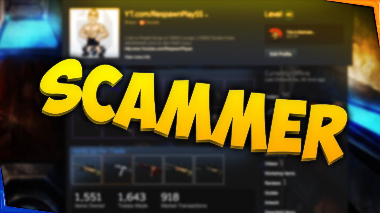 CS GO SCAMMER CAUGHT! - YouTube