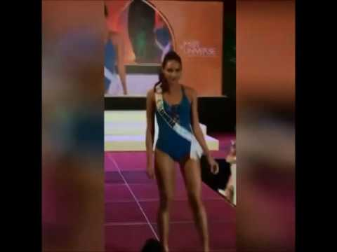 MISS COLOMBIA Andrea Tovar | SWIMSUIT Presentation | 65th MISS UNIVERSE (2016-2017)