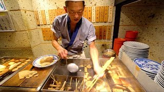JAPANESE STREET FOOD - Tokyo Street Food Tour | CRAZY Street Food in Japan + BEST Nightlife in TOKYO
