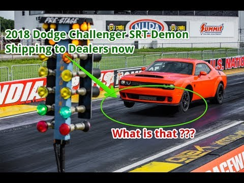 POWERCARS # 2018 Dodge Challenger SRT Demon Shipping to Dealers Now