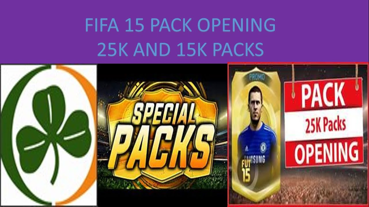 Fifa 15 pack opening st patricks day packs youtube