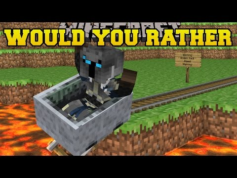 Minecraft: EXTREME WOULD YOU RATHER (GET IT RIGHT OR DIE!) Mini-Game [1]