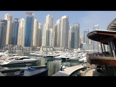 A Tour Around Dubai Marina