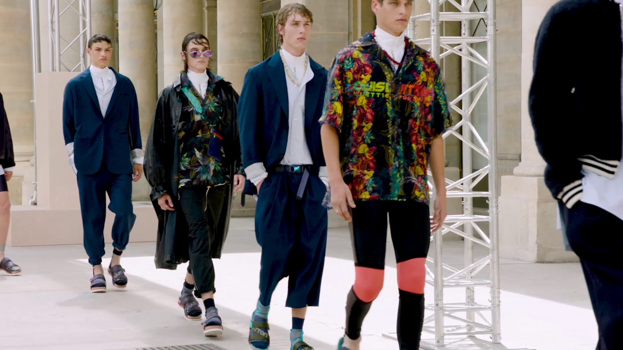 Finale from the Louis Vuitton Men's Spring-Summer 2018 Fashion Show