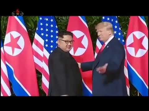 Kim Jong Un in Singapore with English Commentary Official North Korean TV