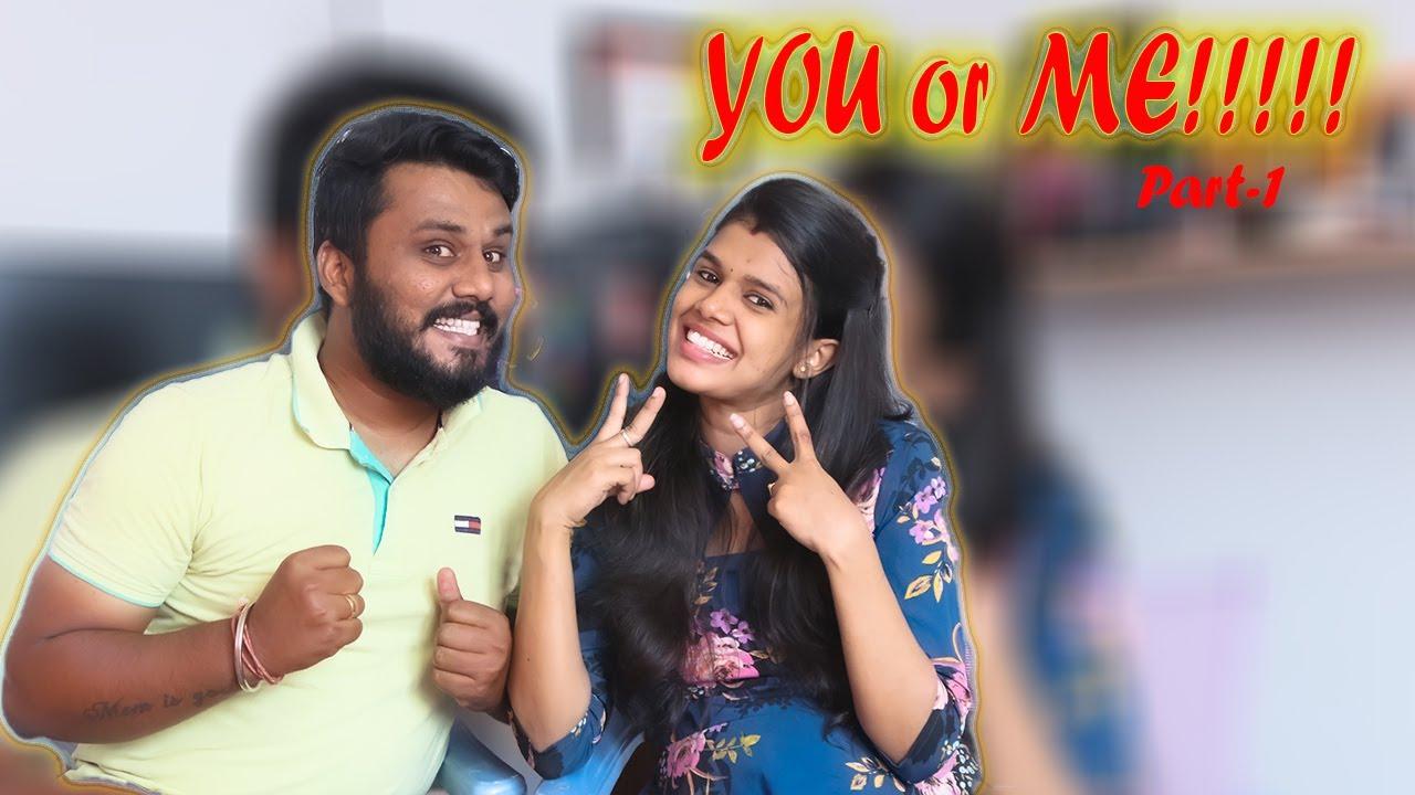 You or Me Couple Challenge!!! part-1 | SRINEE FAMILY | #srineefamily #srineevideos