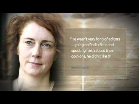 Former News of the World editor Rebekah Brooks denies any knowledge of phone hacking