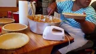 VLOG: COOKING WITH GRANDMA  SWEET POTATO PIE