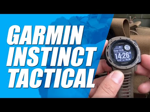 GARMIN INSTINCT Tactical | Обзор