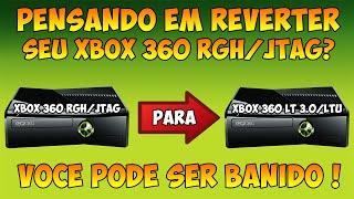 Eu Posso Reverter Um XBOX 360 RGH/JTAG Para XBOX 360 LT 3.0/LTU ? Quais São Os Riscos ?