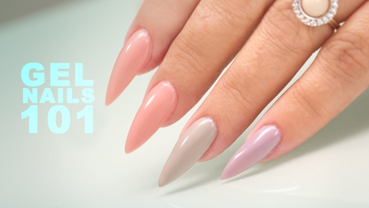 Sculpting Gel Nails Step By Tutorial
