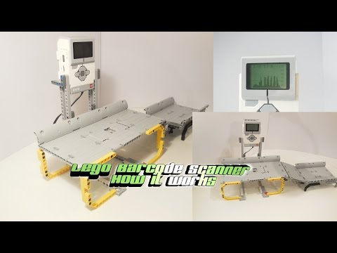 Lego Mindstorms Barcodescanner Technic/How it works