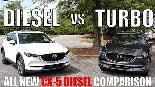 Is the 2019 Mazda CX-5 DIESEL better than the CX-5 Turbo