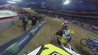GoPro Onboard 2015 Lille SX | Weston Peick Saturday Night Main Event | TransWorld Motocross
