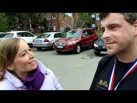 Fischhallenlauf 2011 - Ziel-Interview Lena-Style