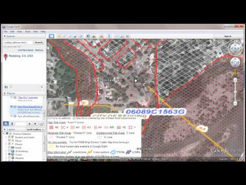 FEMA Flood Maps Via GoogleEarth.wmv