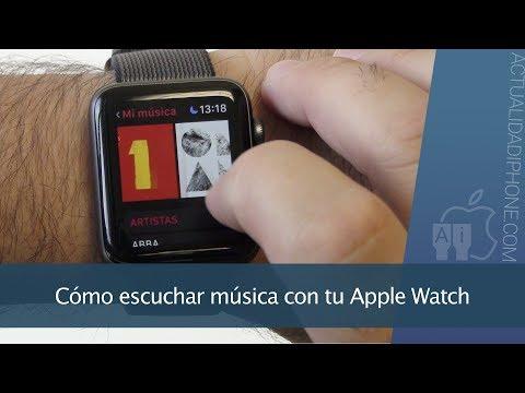 Cómo escuchar música con el Apple Watch