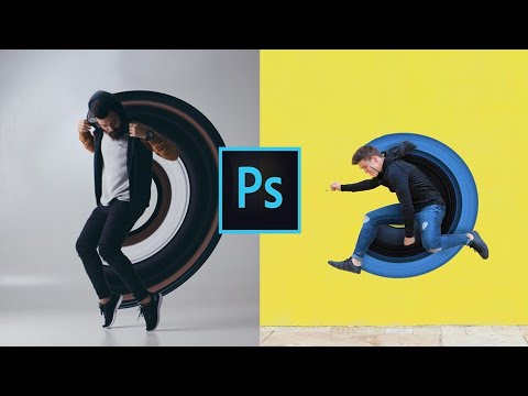 #Photoshop Tutorial 8 : How to do Pixel Stretching in Photoshop thumbnail